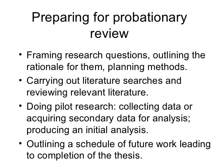 Dissertation Proposal Outline Qualitative