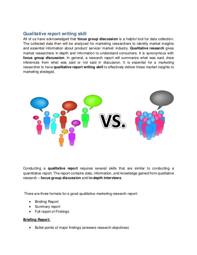 Report writing skill