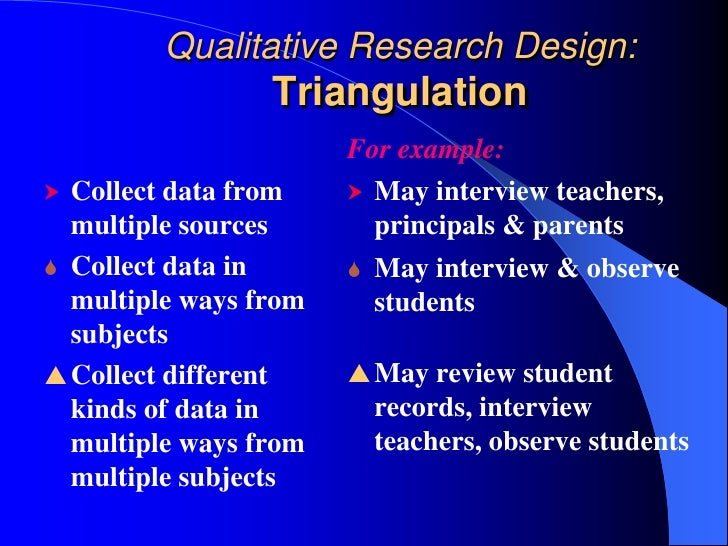 triangulation research methodology pdf free