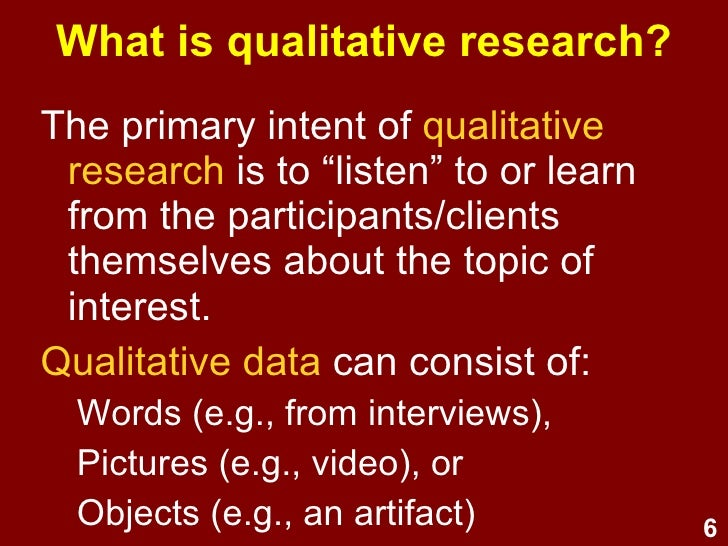 psychology qualitative research paper
