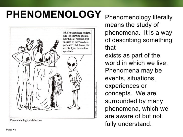 design of phenomenological research De felice, d, & janesick, v j (2015) understanding the marriage of  technology and phenomenological research: from design to analysis.