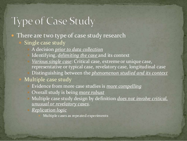 single case study method Staple of the case study method yet the idea of any single case playing a cru-cial controversial is the crucial-case method, first proposed by harry eckstein.