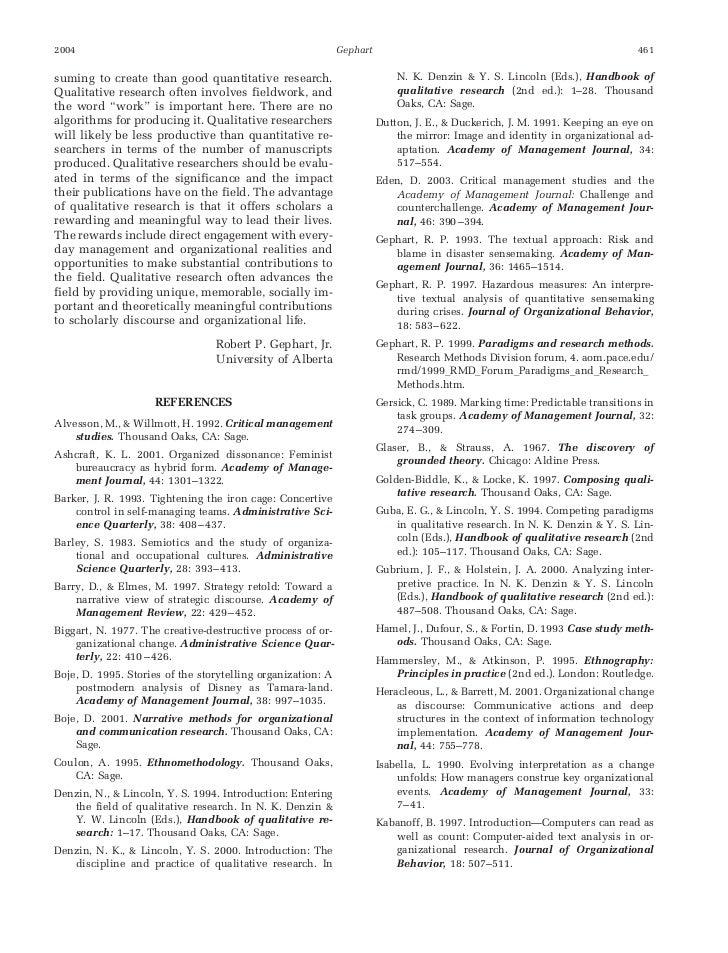 Qualitative market research journal