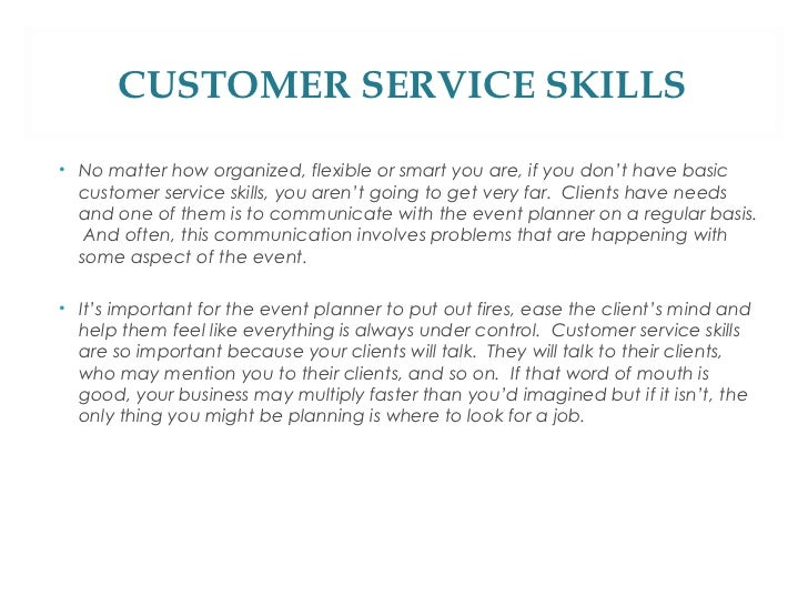 Example Of Customer Service Skills On Resume Resume Profile Examples ...