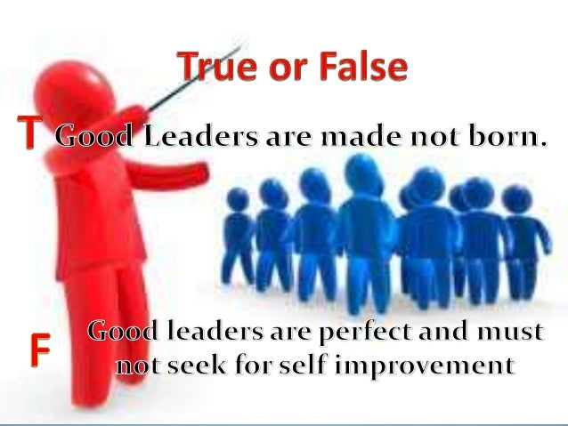 qualities of a true leader essay The top 10 leadership qualities updated: september 26 a leader does not suffer analysis paralysis but is always doing something in pursuit of the vision.
