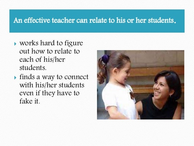 characteriistics of an effective teacher Top eight characteristics of a successful social worker december 12, 2012 by contributor career, social work social work jobs, social work student.