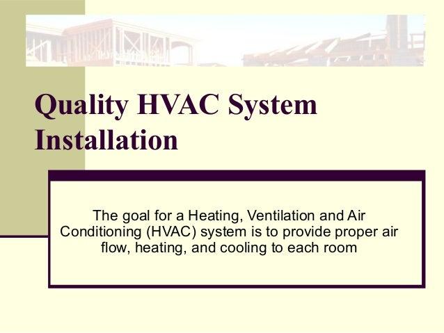 Quality HVAC Installation Made Easy