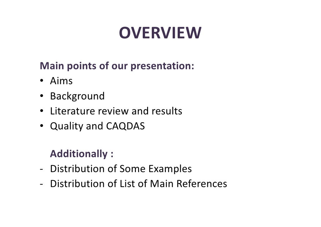 why literature review is needed in research study