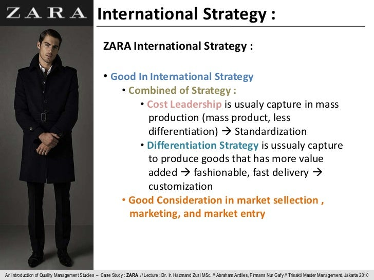 zara postponement strategy essay Zara supply chain essay would zara's model work for other retailers zara postponement strategy walmart's supply chain.