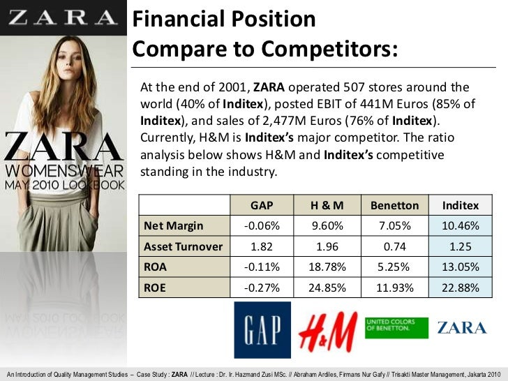 inditex and zara the paradigmatic example of the market orientation Zara commitments wants to help the sustainable developments of the society and the environments with which it interacts this commitment to the environment is a part of the inditex group corporate social responsibility is one example of waste.