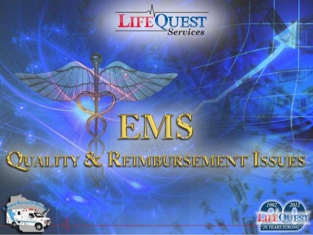 PSOW 2012 - Quality & Reimbursement