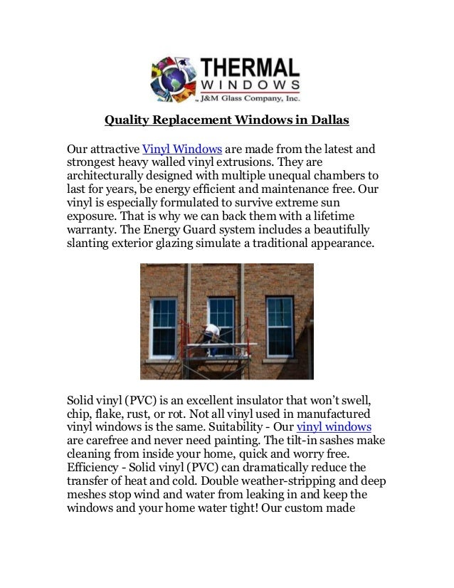 Quality replacement windows in dallas for Quality replacement windows