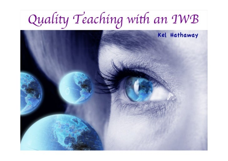 Quality teaching with an IWB
