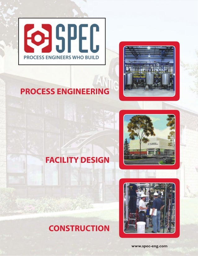 SPEC PROCESS ENGINEERING & CONSTRUCTION 17 A Street Burlington, Massachusetts 01803 Phone (781) 221-0123 Facsimile (781) 2...