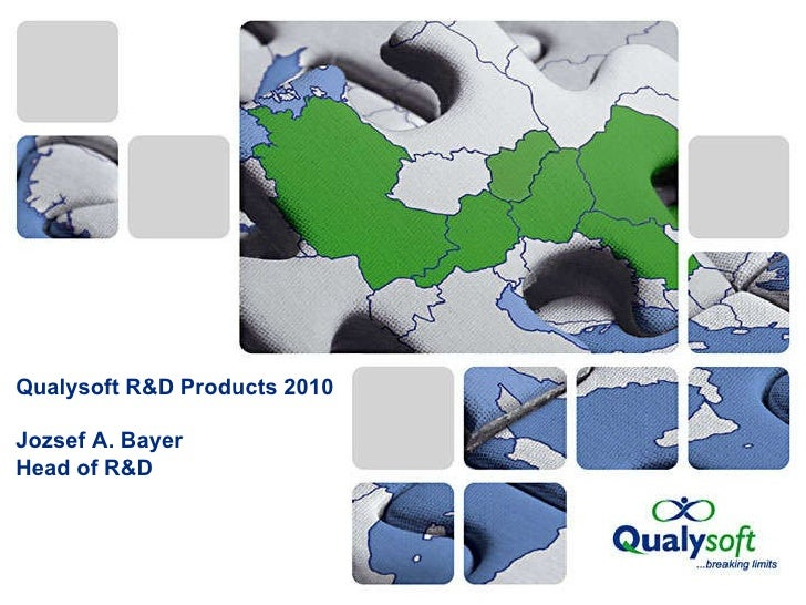 Qualysoft R&D Products by Joseph Bayer
