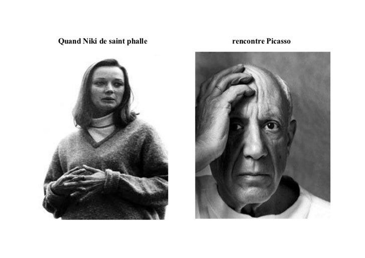 Quand Niki de saint phalle   rencontre Picasso