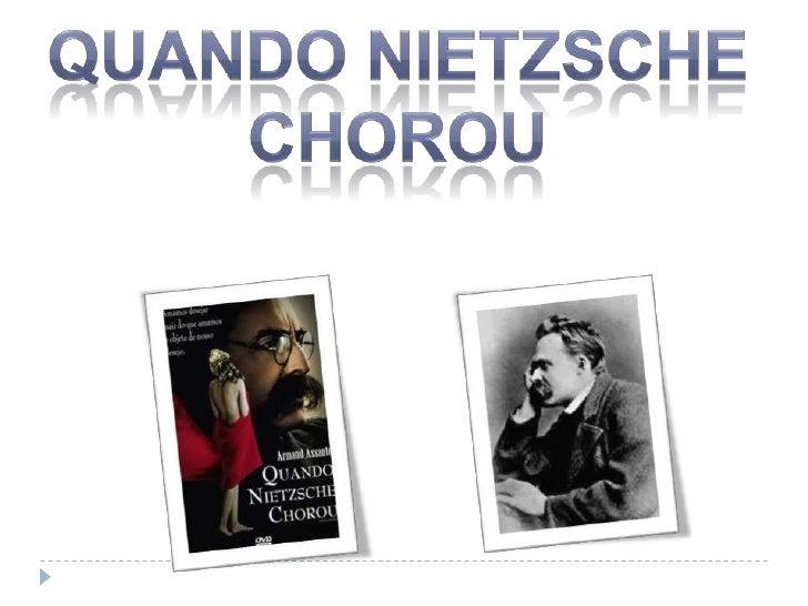 Quando Nietzsche<br />chorou<br />