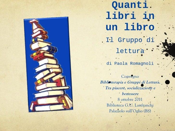 Quanti libri in un libro di Paola Romagnoli