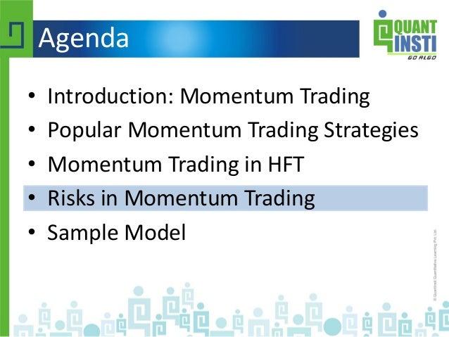 Profitability of momentum trading strategies