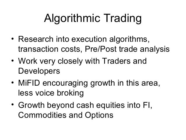 Algorithmic Trader Resume Sample – Best Format