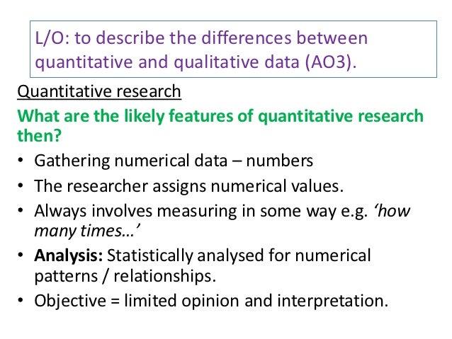 Questionnaires quantitative research