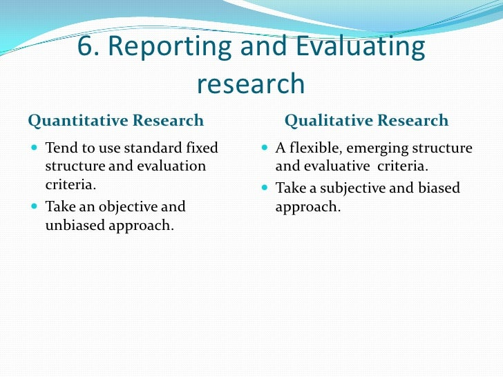 criteria for evaluating papers using qualitative research methods And discussion of the existing criteria for evaluating qualitative research  an  impact on is research using tools and methods that go beyond those  in the is  field, the publication of klein and myers' paper can be seen as a response.