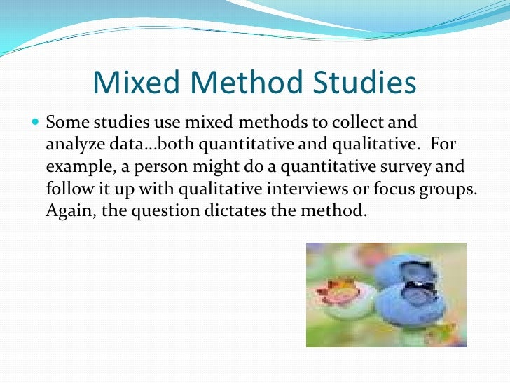mixed method research thesis
