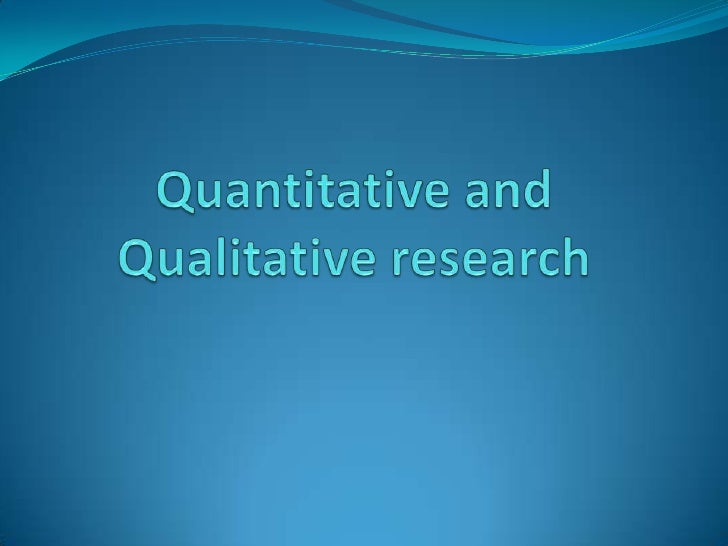 Dissertation on qualitative research