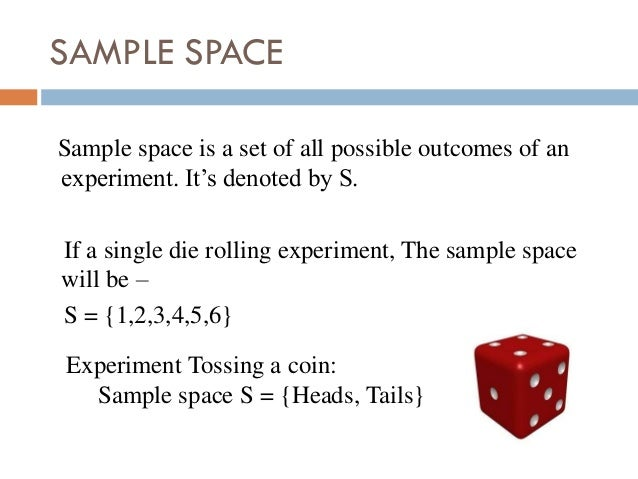 2 dice are rolled probability sampling method and non