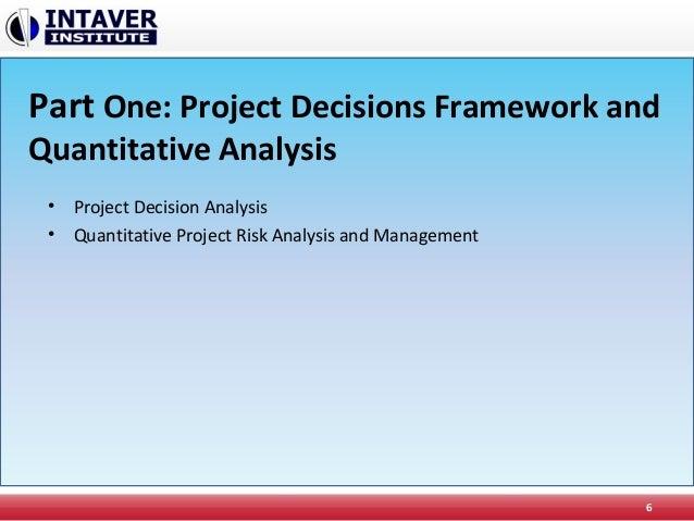 quantitative models for project planning Quantitative project management in many real world problems  keywords:  fuzzy-ai model, quantitative management, project management, theoretical.