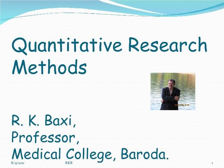 limitations of quantitative research methods