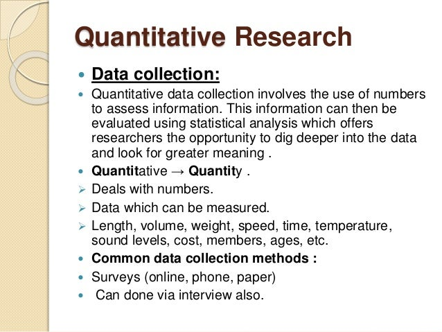 essay on the quantitative techniques of 3 objectives to become aware of the most common quantitative research designs/methods to understand the relationship between the research question and the quantitative.