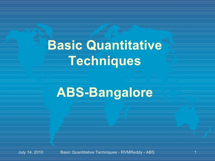 Quantitative techniques basics of mathematics permutations and combinations_part ii_30 pages