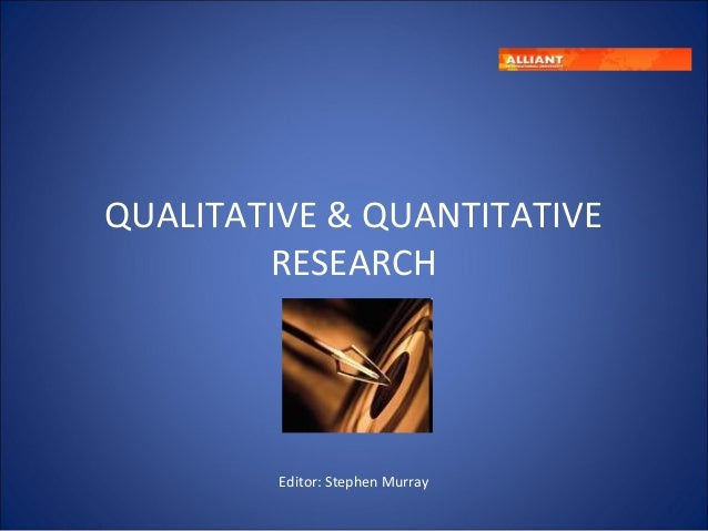 Quantitative vs qualitative_research
