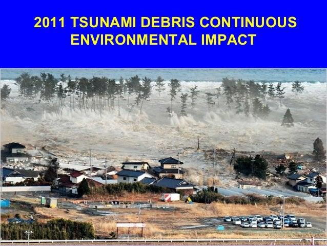 2011 TSUNAMI DEBRIS CONTINUOUS ENVIRONMENTAL IMPACT