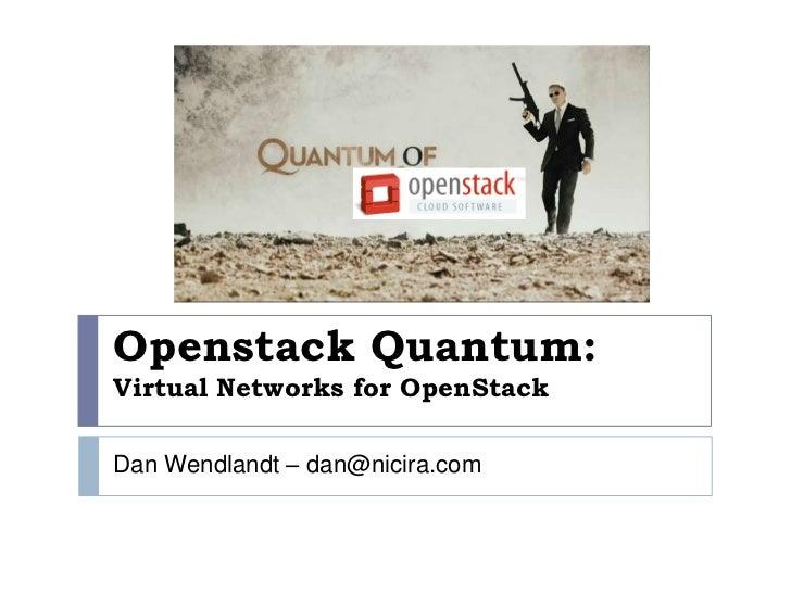 Quantum diablo summary
