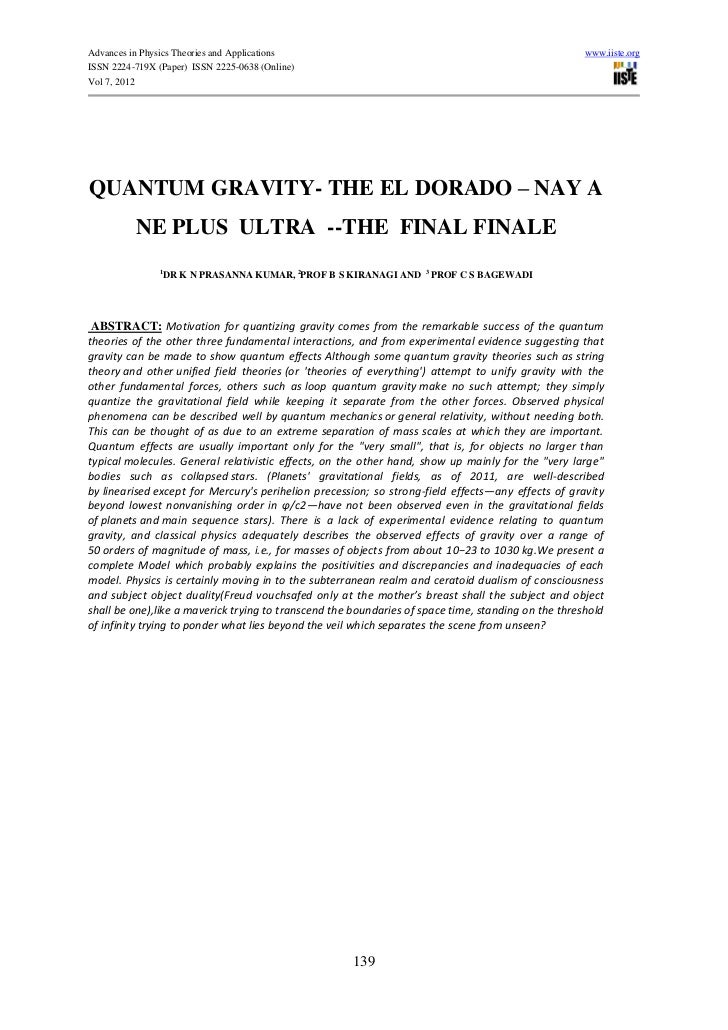 Advances in Physics Theories and Applications                                                        www.iiste.orgISSN 222...