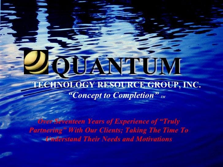 Quantum Overview