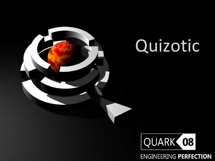 Quizotic