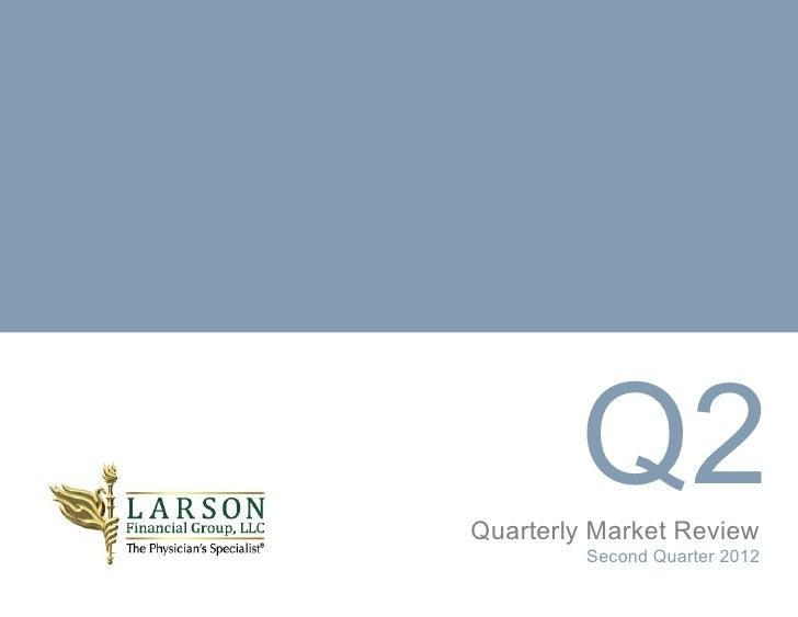 Q2Quarterly Market Review         Second Quarter 2012