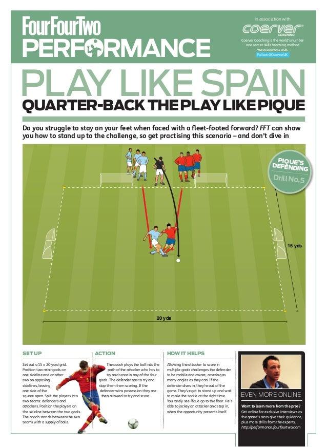 Quarter back the play like pique (5)