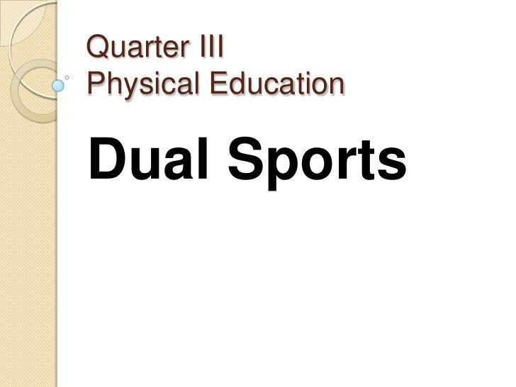 Quarter iii