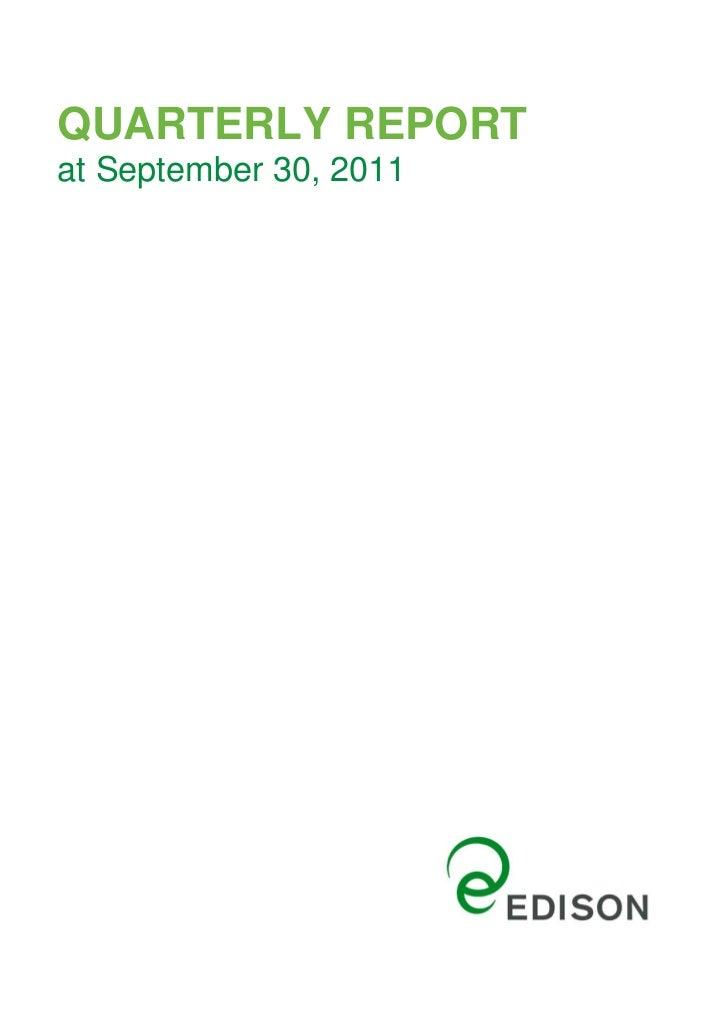 Quarterly report30september2011
