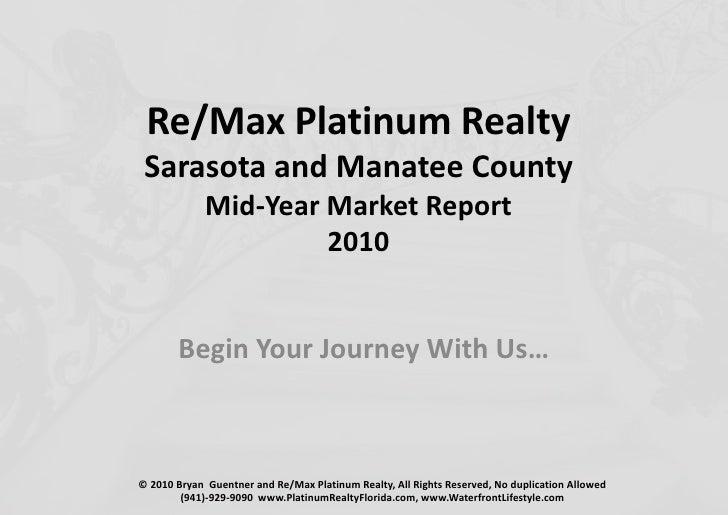 Quarterly Market Update Sarasota Stats 2010