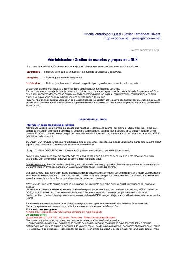 Tutorial creado por Quasi / Javier Fernández Rivera                                                                     ht...