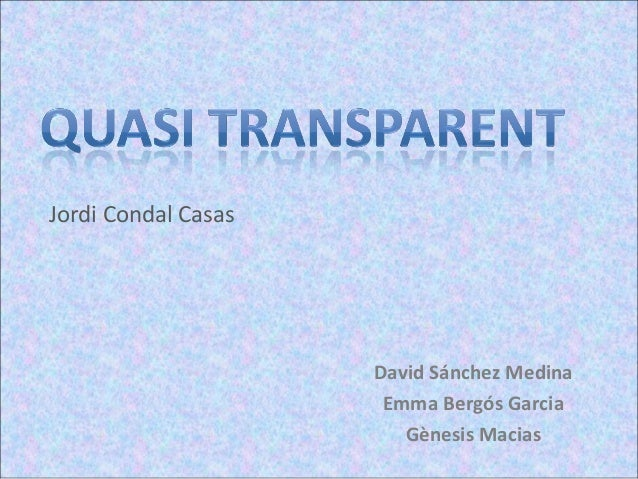 Jordi Condal Casas                     David Sánchez Medina                      Emma Bergós Garcia                       ...