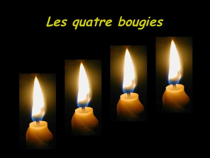 Les quatre bougies