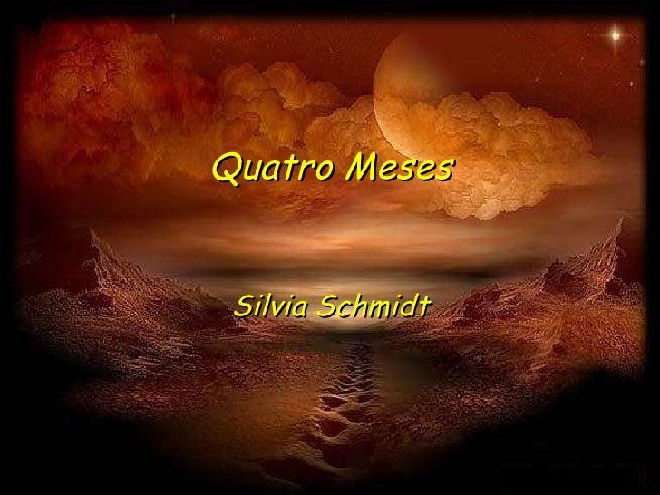 Quatro Meses Silvia Schmidt
