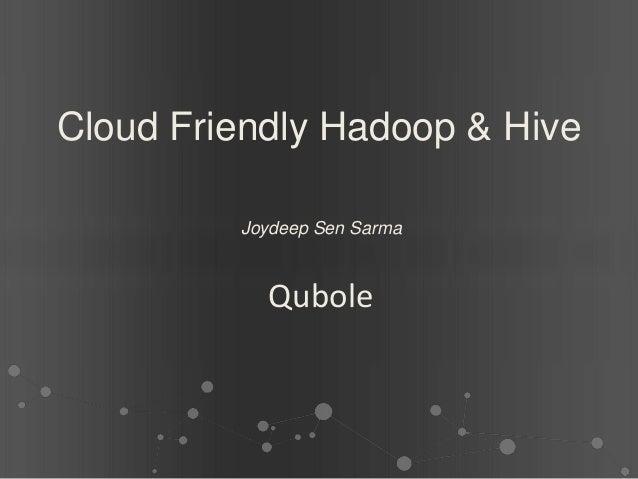 Qubole hadoop-summit-2013-europe