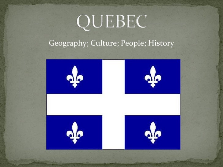 Geography; Culture; People; History
